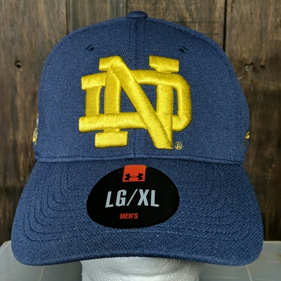 cde2dbac8e5 New Notre Dame L XL fitted hat Shamrock series